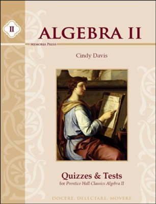 Algebra 2 Quizzes & Tests   -     By: Cindy Davis