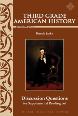 Third Grade American History: Discussion Questions for Supplemental Reading  -     By: Brenda Janke