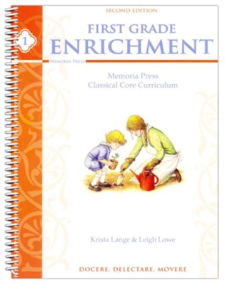 First Grade Enrichment, Second Edition   -     By: Krista Lange, Leigh Lowe