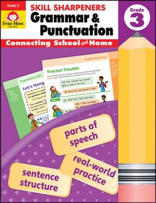 Skill Sharpeners: Grammar and Punctuation, Grade 3   -