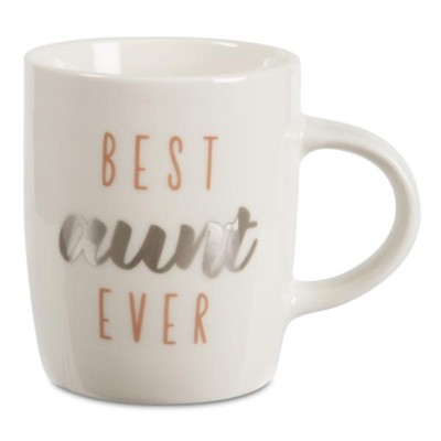 Best Aunt Ever Mug, White  -