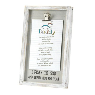 Daddy You Taught Me How to Love Framed Art  -
