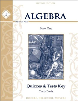 Algebra 1 Quizzes & Tests Key (2nd Edition)   -     By: Cindy Davis