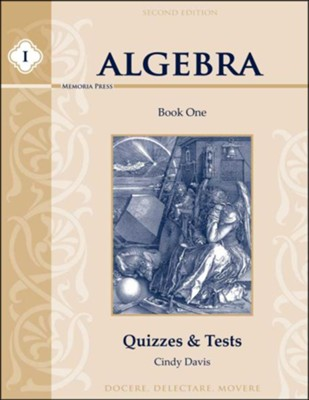 Algebra 1 Quizzes & Tests (2nd Edition)   -     By: Cindy Davis