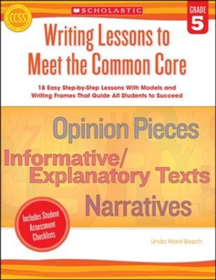 Writing Lessons, Gr.5   -     By: Linda Beech