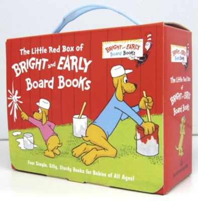 The Little Red Box of Bright and Early Board Books  -     By: P.D. Eastman, Michael Frith