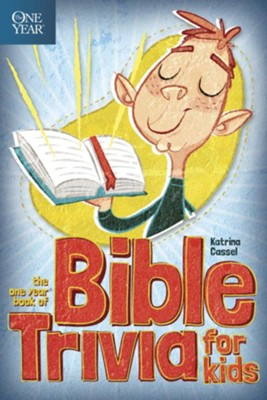 The One Year Book of Bible Trivia for Kids - eBook  -     By: Katrina Cassel