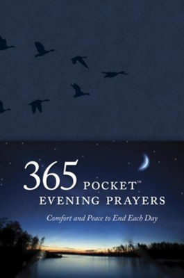 365 Pocket Evening Prayers: Comfort and Peace to End Each Day - eBook  -     By: David R. Veerman