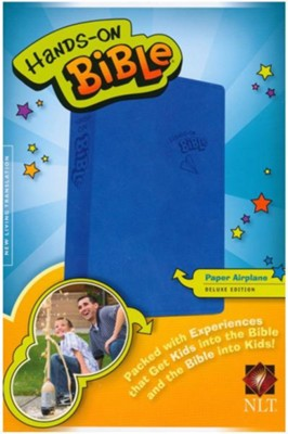 NLT Hands-On Bible for Boys, Updated Edition   -