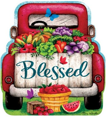 Blessed, Truck, Stepping Stone  -     By: Tina Wenke