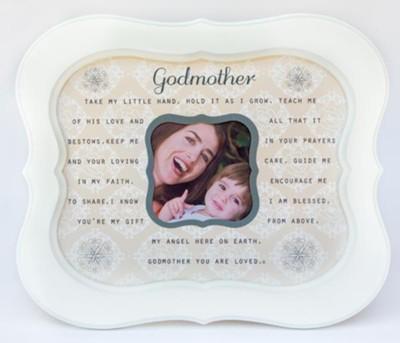 Godmother Sentiment Photo Frame - Christianbook.com