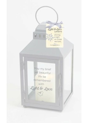 Child Infant Loss LED Lantern  -