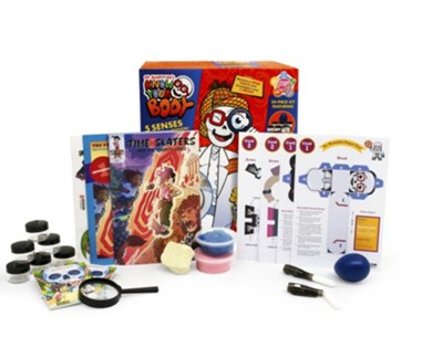 Dr. Bonyfide's Know Your Body: 5 Senses Edition!   -