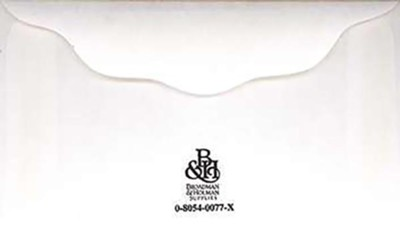 Small Blank Offering Envelopes White 4 1 Inch X 2 3