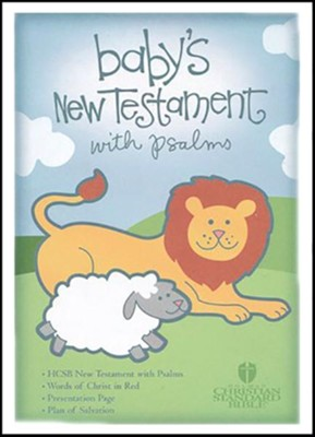 HCSB Baby's New Testament with Psalms - Pink   -