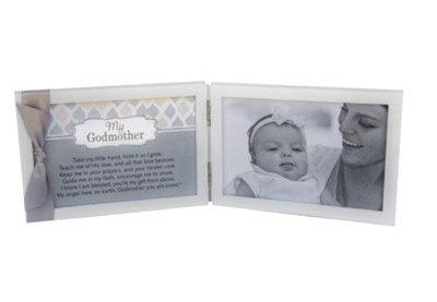 My Godmother Photo Frame With Sentiment  -