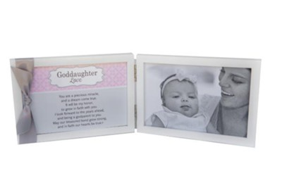 My Goddaughter Photo Frame With Sentiment  -