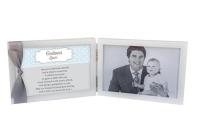 Godson Love Photo Frame With Sentiment  -