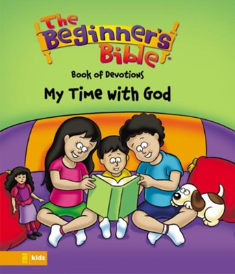 The Beginner's Bible Book of Devotions--My Time with God - eBook  -     By: Kelly Pulley
