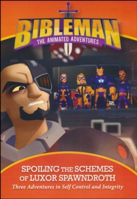 Bibleman: Spoiling the Schemes of Luxor Spawndroth, DVD  -
