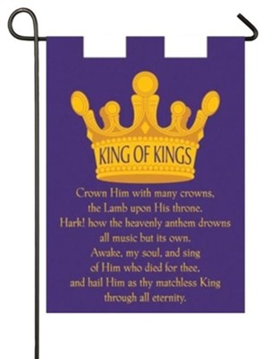 King of Kings, Crown Flag, Small  -