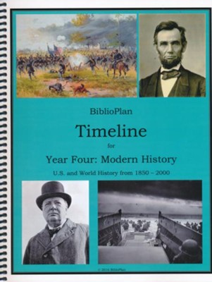 BiblioPlan Timeline for Year Four: Modern History (2016  Update)  -
