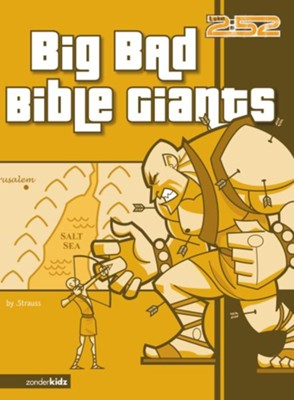 Big Bad Bible Giants - eBook  -     By: Ed Strauss