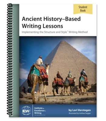 Ancient History-Based Writing Lessons Student Book (5th  Edition)  -     By: Lori Verstegen
