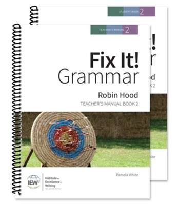 Fix It! Grammar Book 2: Robin Hood (Teacher/Student Combo)  -