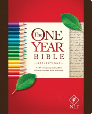 NLT One Year Bible Reflections Edition, Hardcover   -     By: Tyndale