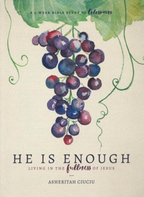 He is Enough: Living in the Fullness of Jesus (A Study in  Colossians)  -     By: Asheritah Ciuciu