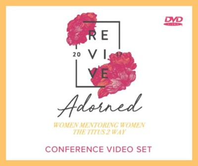 Adorned: Living Out the Beauty of the Gospel Together DVD  -     By: Nancy DeMoss Wolgemuth