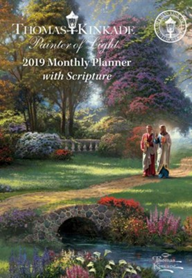 2019 Painter of Light Monthly Pocket Planner Calendar  -     By: Thomas Kinkade
