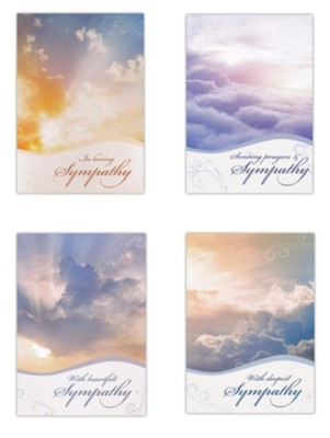 Beyond the Clouds Sympathy Cards, Box of 12  -