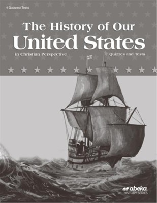 The History of Our United States (Grade 4) Quiz and Test Book (Unbound Edition)  -