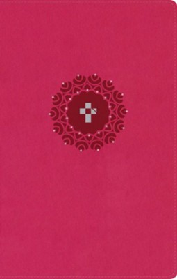 NLT HelpFinder Bible LeatherLike, Pink  -     Edited By: Ronald A. Beers, V. Gilbert Beers