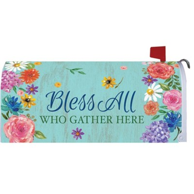 Bless All Who Gather Here Mailbox Makeover  -