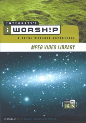 iWorship MPEG Video Library: Volumes K - N, DVD-ROM   -
