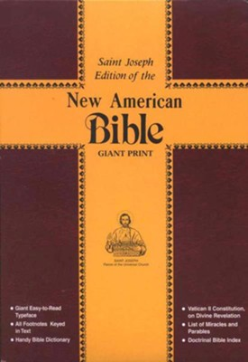 New American Bible, A Saint Joseph Edition, Giant 14-Point Type   -