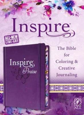 NLT Inspire PRAISE Bible  -     By: Christian Art