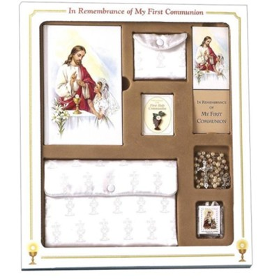 First Mass Book Premier Boxed Set, Cathedral Edition for Girls      -