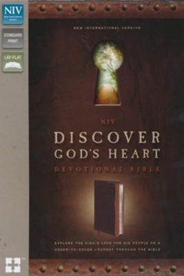 NIV Discover God's Heart Devotional Bible           -