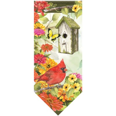 Cardinal Birdsong Banner Flag  -     By: Sandy Clough