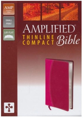 Amplified Thinline Bible Compact, Italian Duo-Tone, Magenta/Razzleberry  -