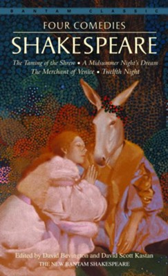 Four Comedies: The Taming of the Shrew, A Midsummer Night's Dream, The Merchant of Venice, Twel fth Night - eBook  -     By: William Shakespeare