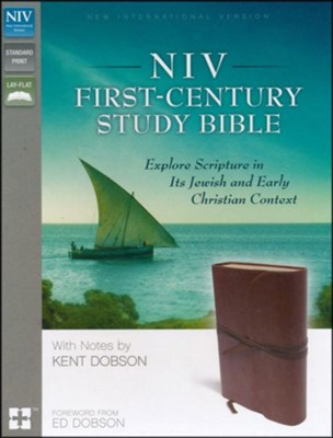 NIV First-Century Study Bible, Brown   -     By: Kent Dobson