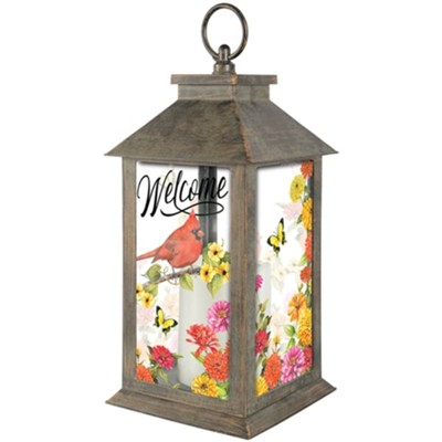 Cardinal Birdsong Lantern  -     By: Sandy Clough