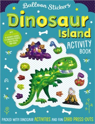Balloon Stickers Dinosaur Island  -     By: Stuart Lynch