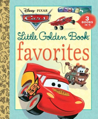 Cars Little Golden Book Favorites (Disney/Pixar Cars)  -     By: Various Authors