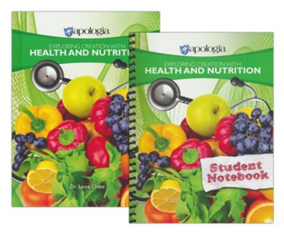 Exploring Creation with Health and Nutrition Course  (Textbook & Student Notebook)  -     By: Laura Chase